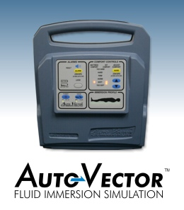 The AutoVector with Fluid Immersion Simulation